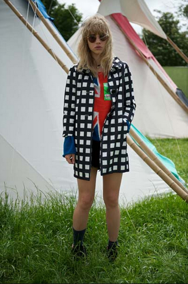 Suki Waterhouse Glastonbury 2013 Wildfox Save The Queen Sweater