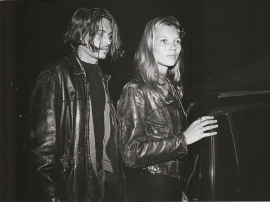 90s Love Kate Moss and Johnny Depp 1
