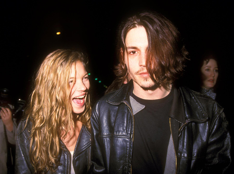 90s Love Kate Moss and Johnny Depp 3