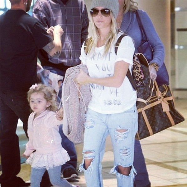 Ashley Tisdale in the Awesome Baggies