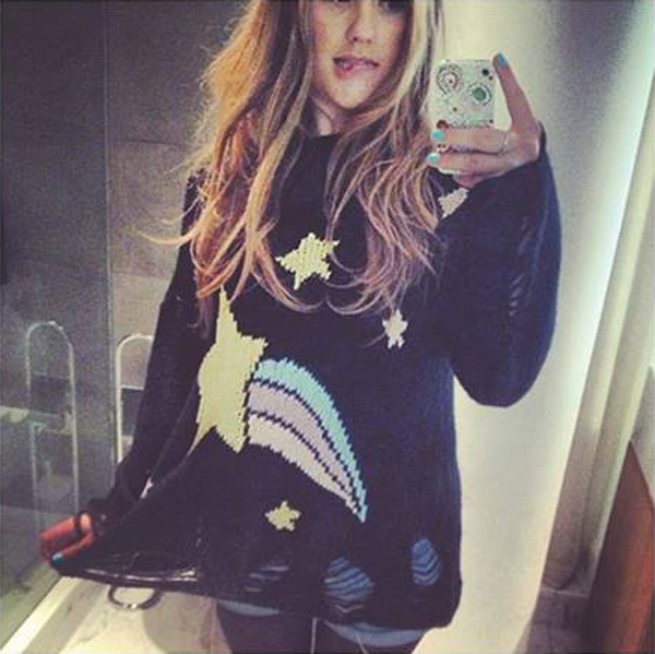 Ella Henderson in the Shooting Star Lennon Sweater