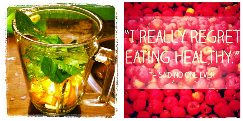 fashionable food healthy self service