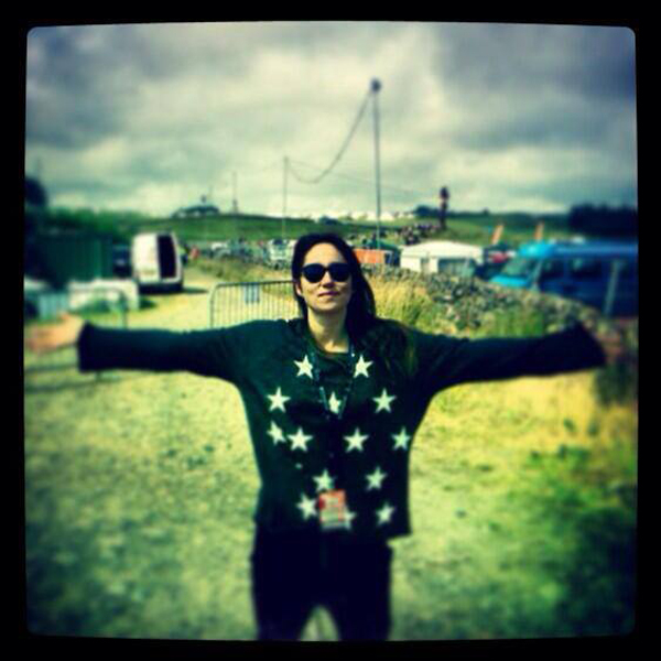 Katie Tunstall in the Jazzercize Stars Maniac Sweater