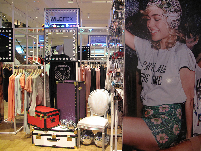 wildfox at selfridges denim studio on 3 _1