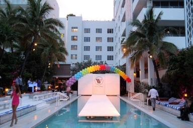 Wildfox Cruise 2014 Soho Beach House pool catwalk
