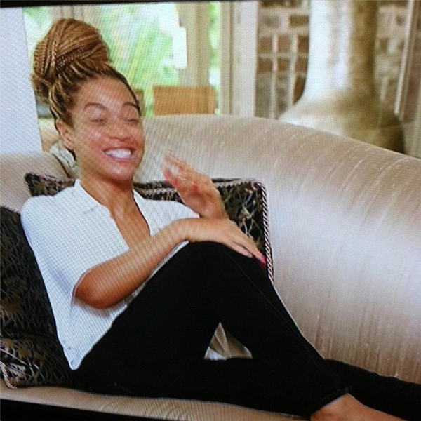 Beyonce wore Genetic in her Life Is But A Dream movie. Sorry for the awkward still, this lady moves fast!
