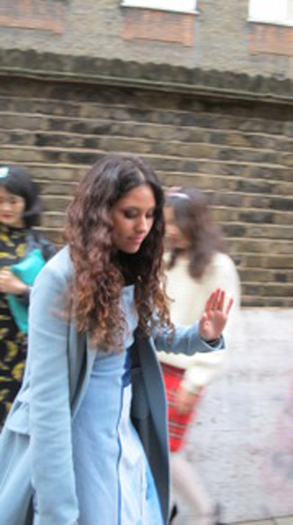 eliza doolittle london fashion week