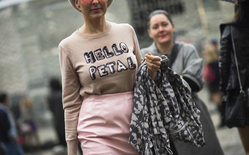 Gotta love a good slogan sweater like Wildfox'