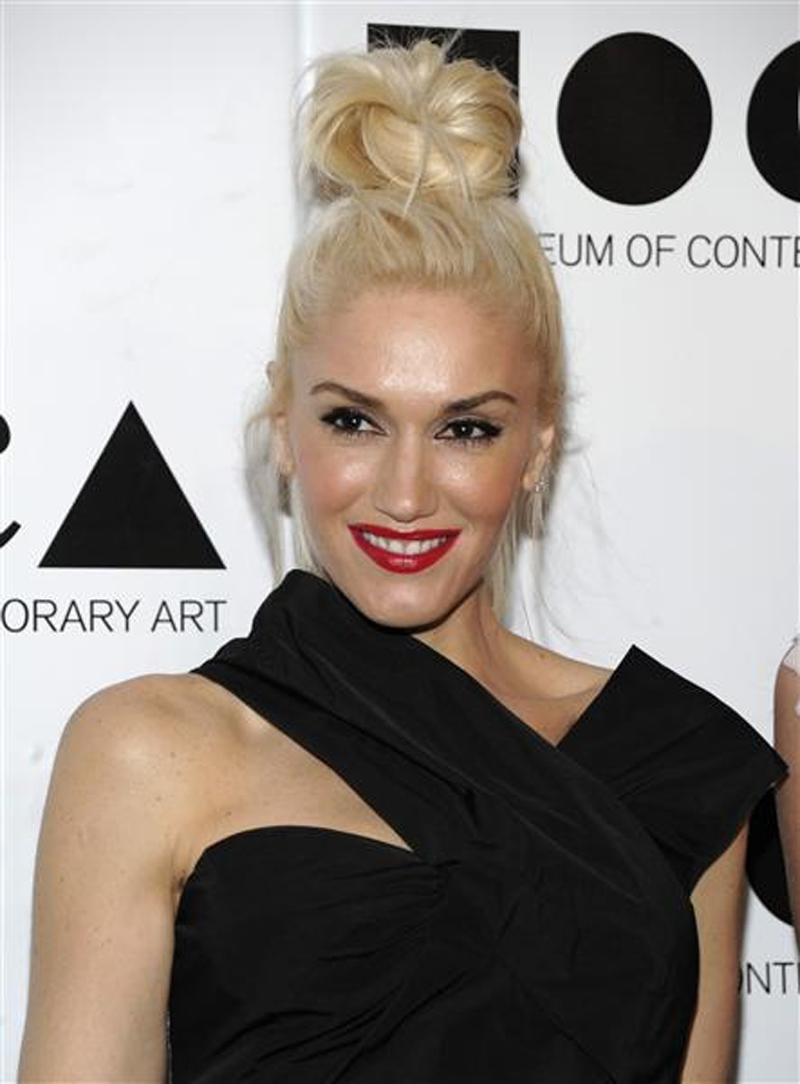 eye brow gwen stefani