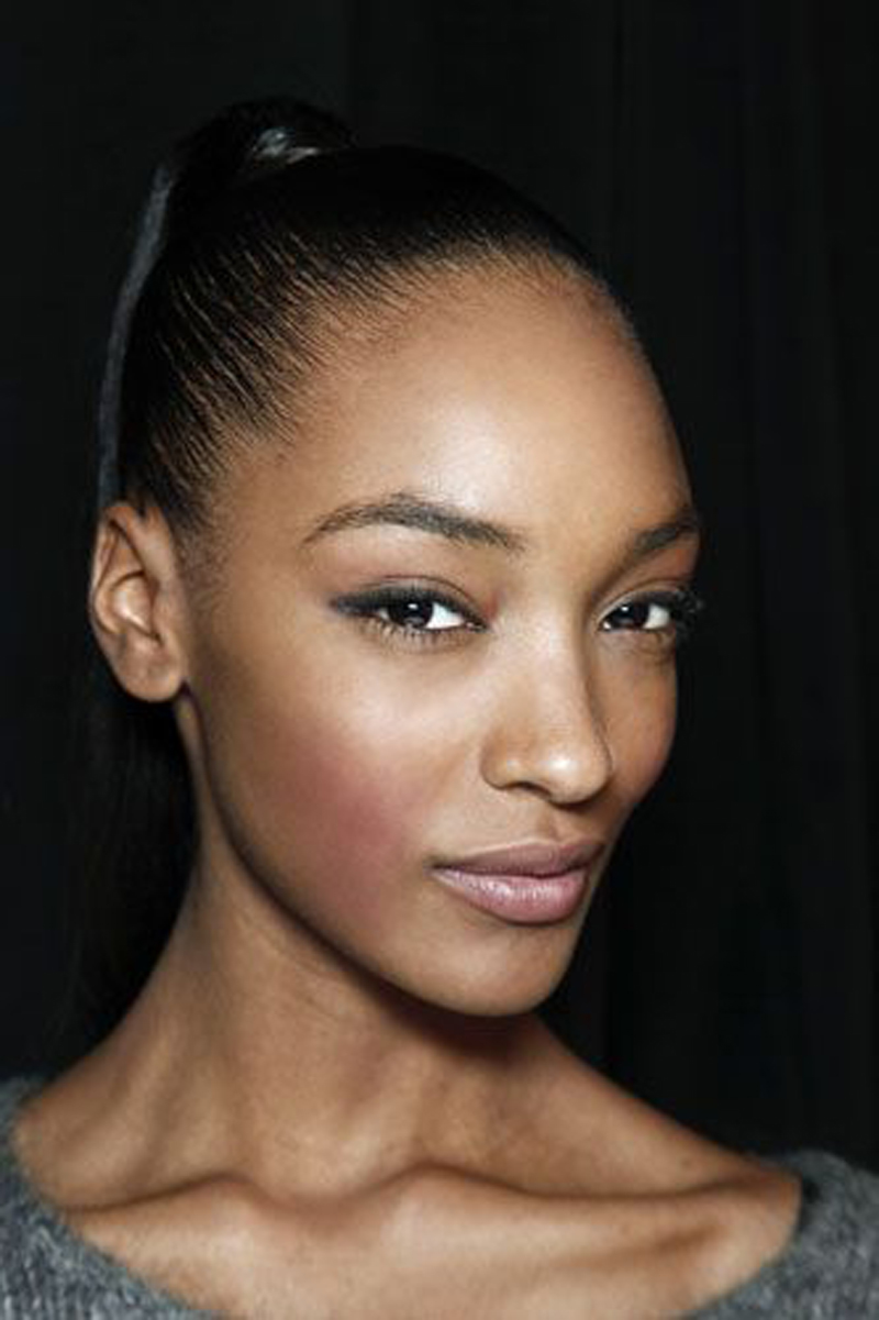 eye brow jourdan dunn