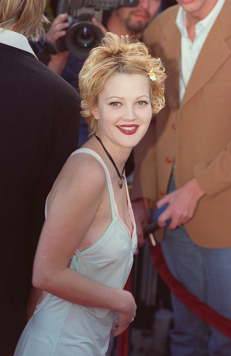 eyebrows drew barrymore 2