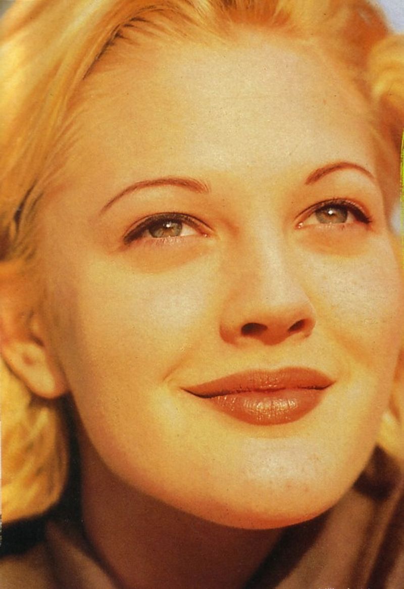 eyebrows drew barrymore