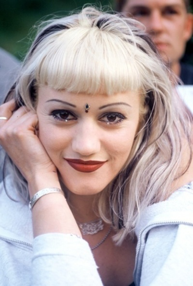 eyebrows gwen stefani no doubt