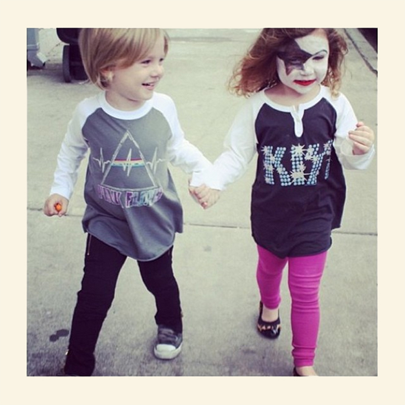 Kids in Junk Food long sleeves. Image submitted by Abeille Nola via Instagram