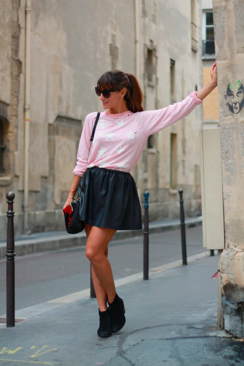 La Revue de Kenza in a Wildox Jumper in Paris
