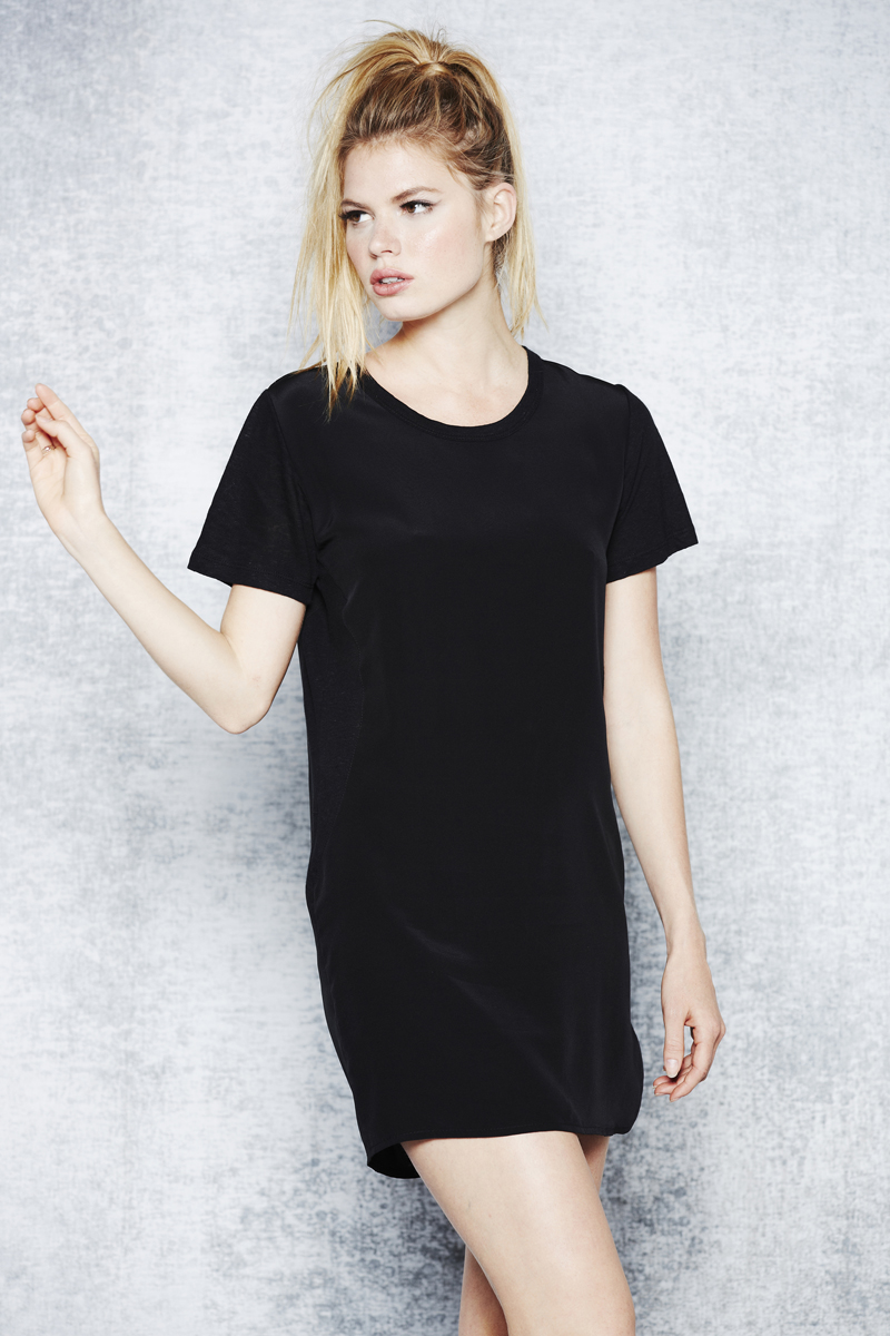 LNA Holiday 2013 Belle Silk Tee Dress