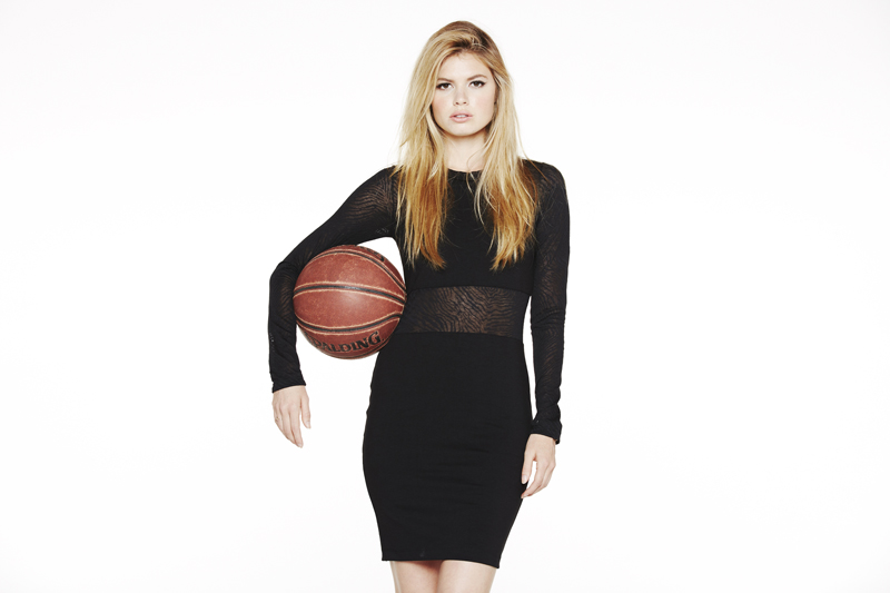 LNA Holiday 2013 Montana Dress
