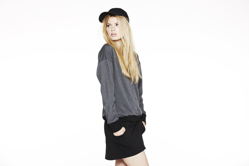 LNA Holiday 2013 Skater Pullover and Columbine Skirt