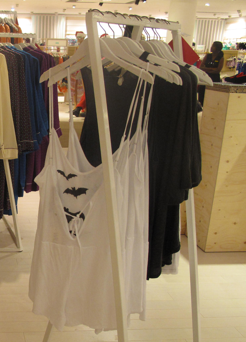 wildfox nightwear department selfridges london