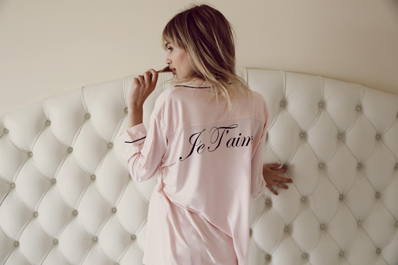 Wildfox PJs Holiday 2013 Classic PJ Set Je taime and WF logo