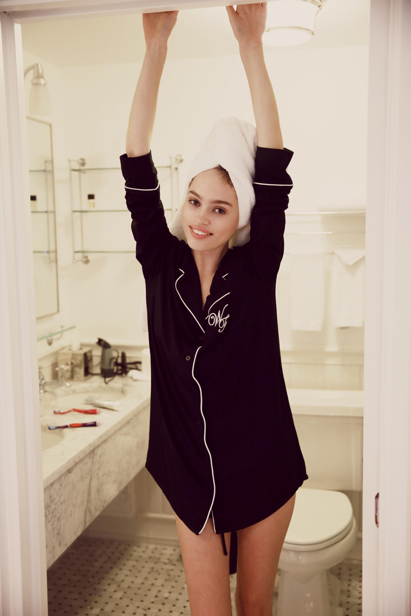 Wildfox PJs Holiday 2013 Dreamer and Wildfox Logo Classic Sleepshirt