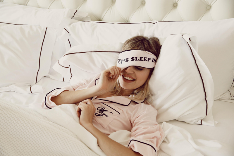 Wildfox PJs Holiday 2013 Lets Sleep In Eye Mask and Dreamer Sleepshirt