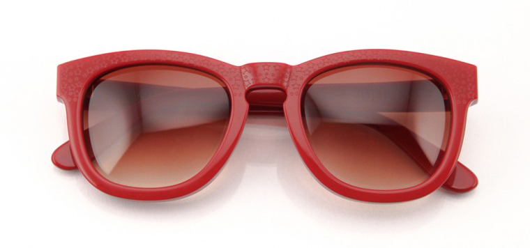 Wildfox Sun Juliet Frame in red, available online at Wildfox UK