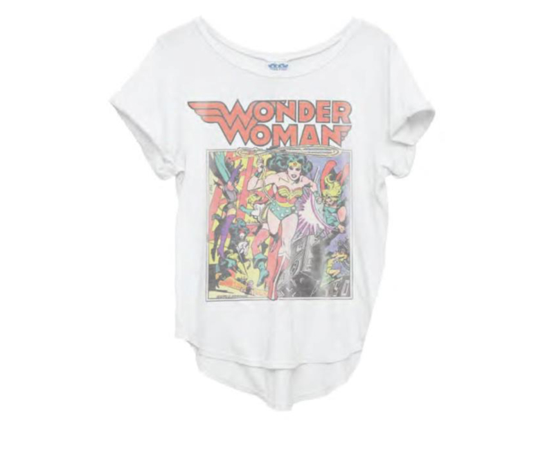 wonder woman coffee house tee
