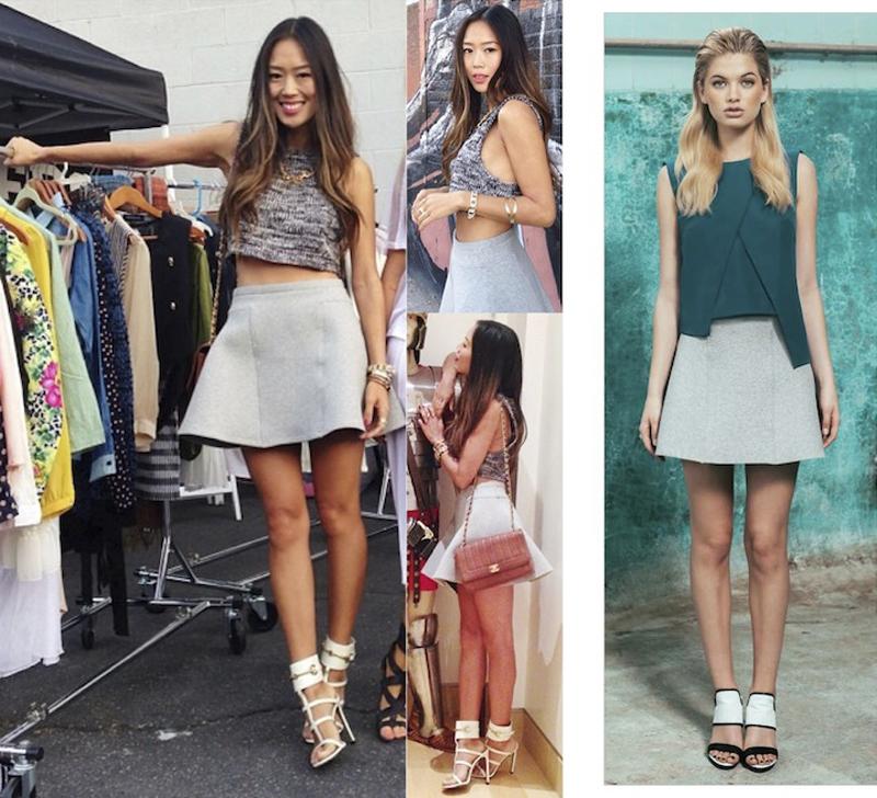 Aimee Song in findersKEEPERS lone ranger skirt_Pointbreak