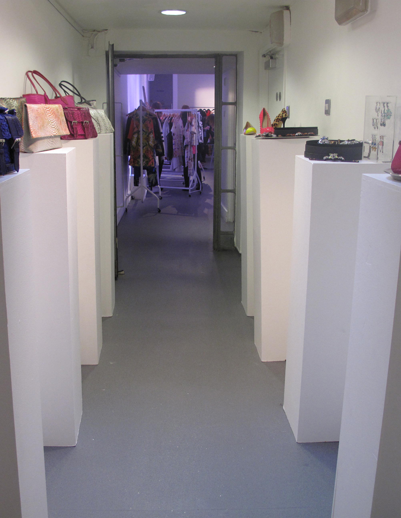 exhibiting at white space gallery b pr press day with finders keepers fashion