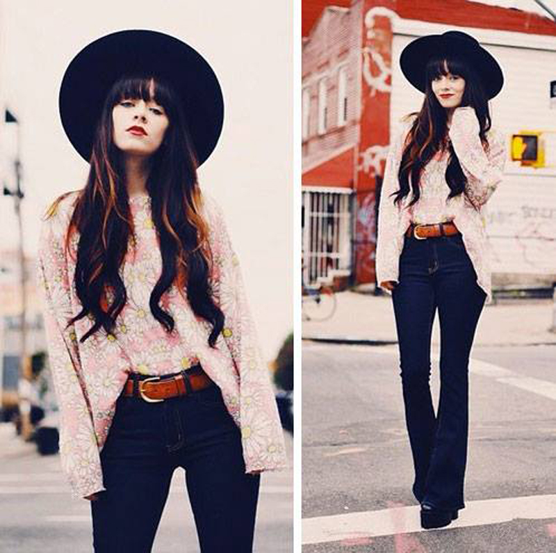 Jag Lever in Wildfox Neo Daisy Roadie Sweater