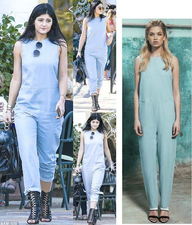 kylie jenner game plan jumpsuit finders keepers point break collection