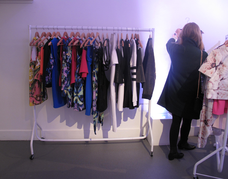 looking through finders keepers at b pr press day