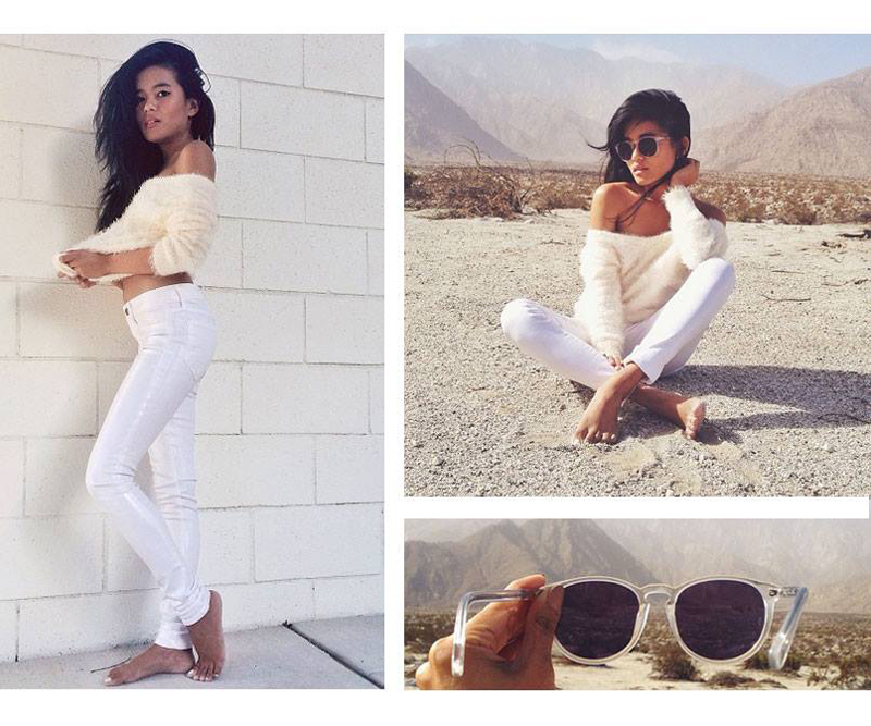 Lust for Life in Wildfox Denim Marianne skinny jeans in Mesmerize