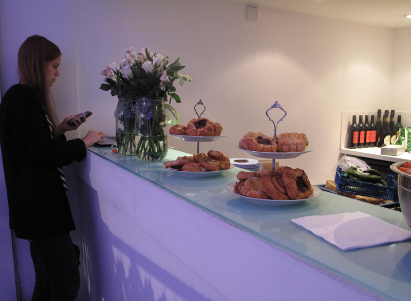 snacks at b pr press day with finders keepers