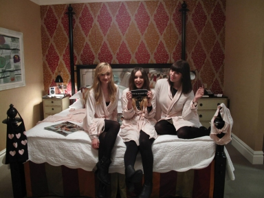 wildfox slumber party soho hotel london bloggers in bed 1