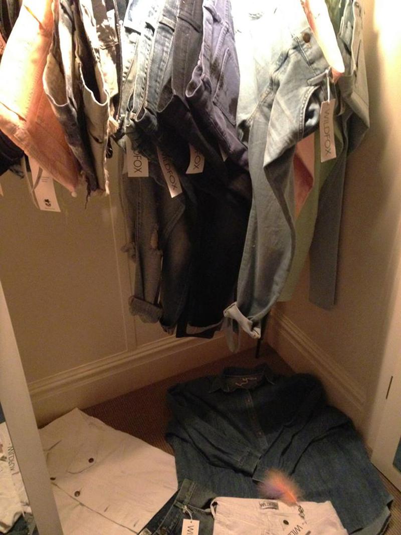Wildfox Denim closet