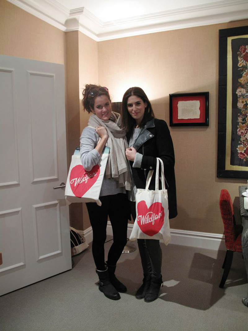 Bloggers Rosie Londoner and Lily Pebbles