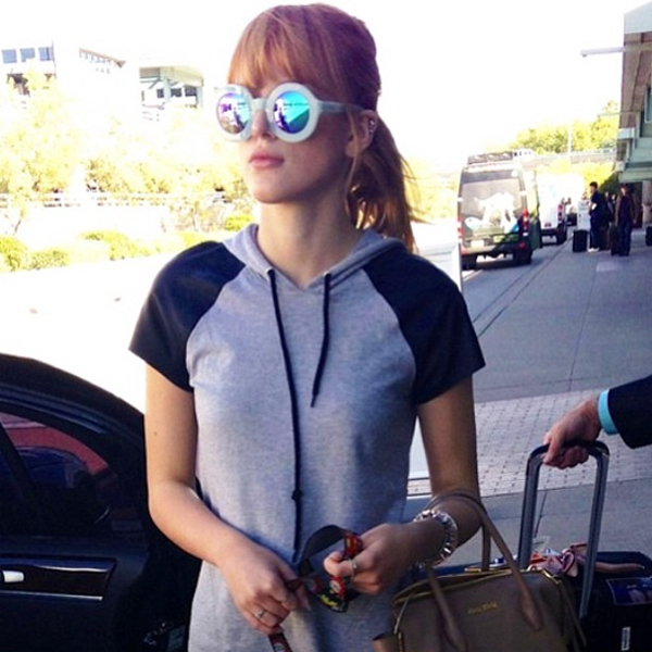 bella thorne wildfox sun twiggy frame mirror
