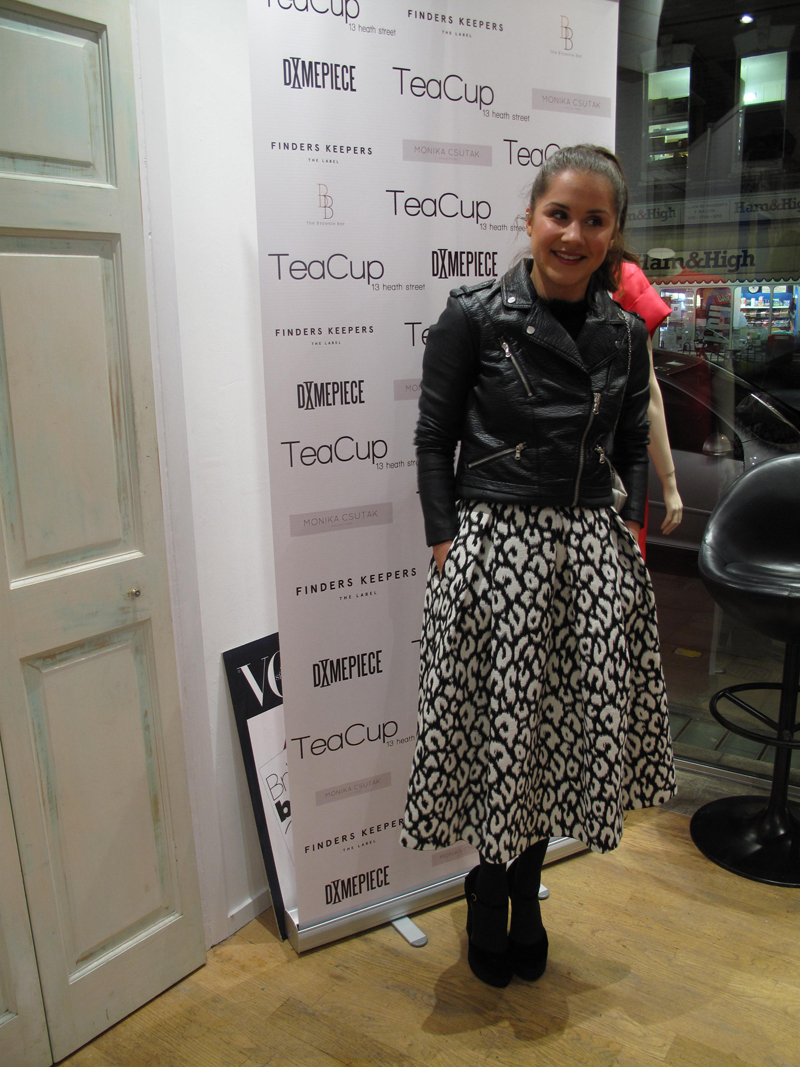 Electra Formosa at Teacup Boutique event