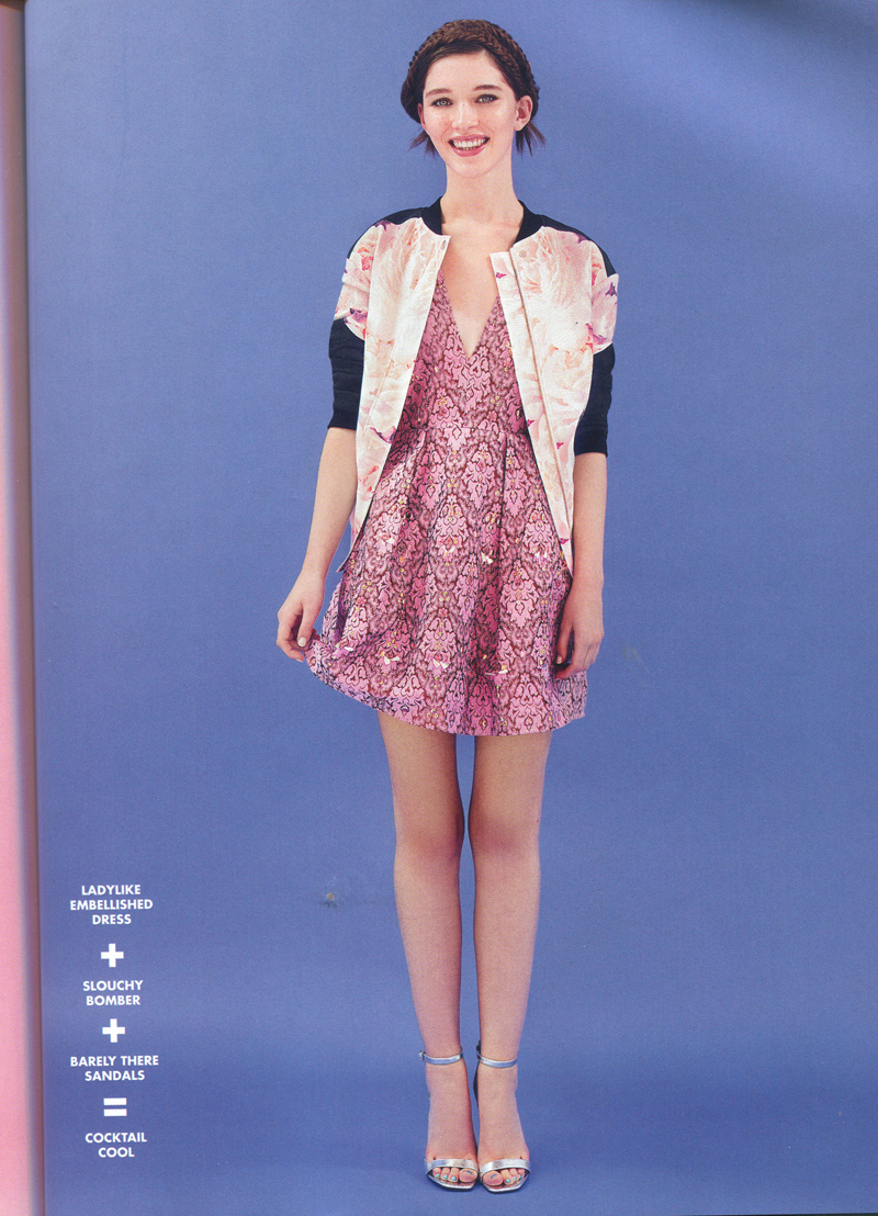 finders keepers eclipse rose bomber in asos jan 14 mag