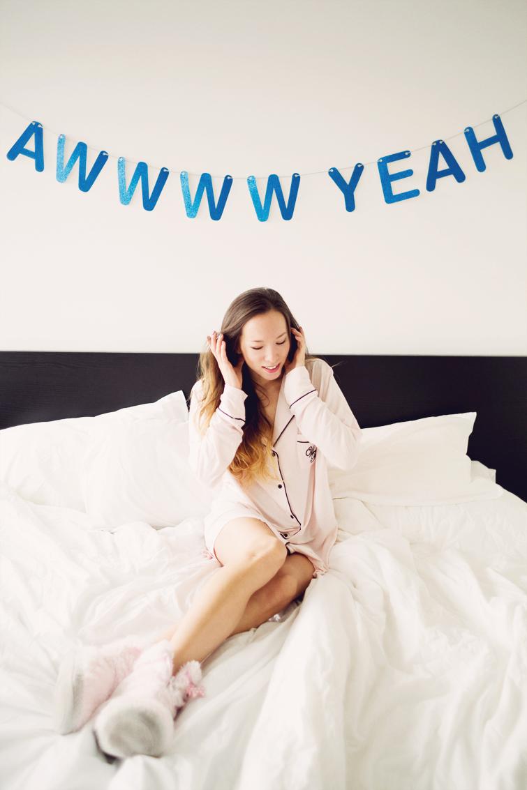 girl in the lens wildfox pyjama dreamer sleepshirt