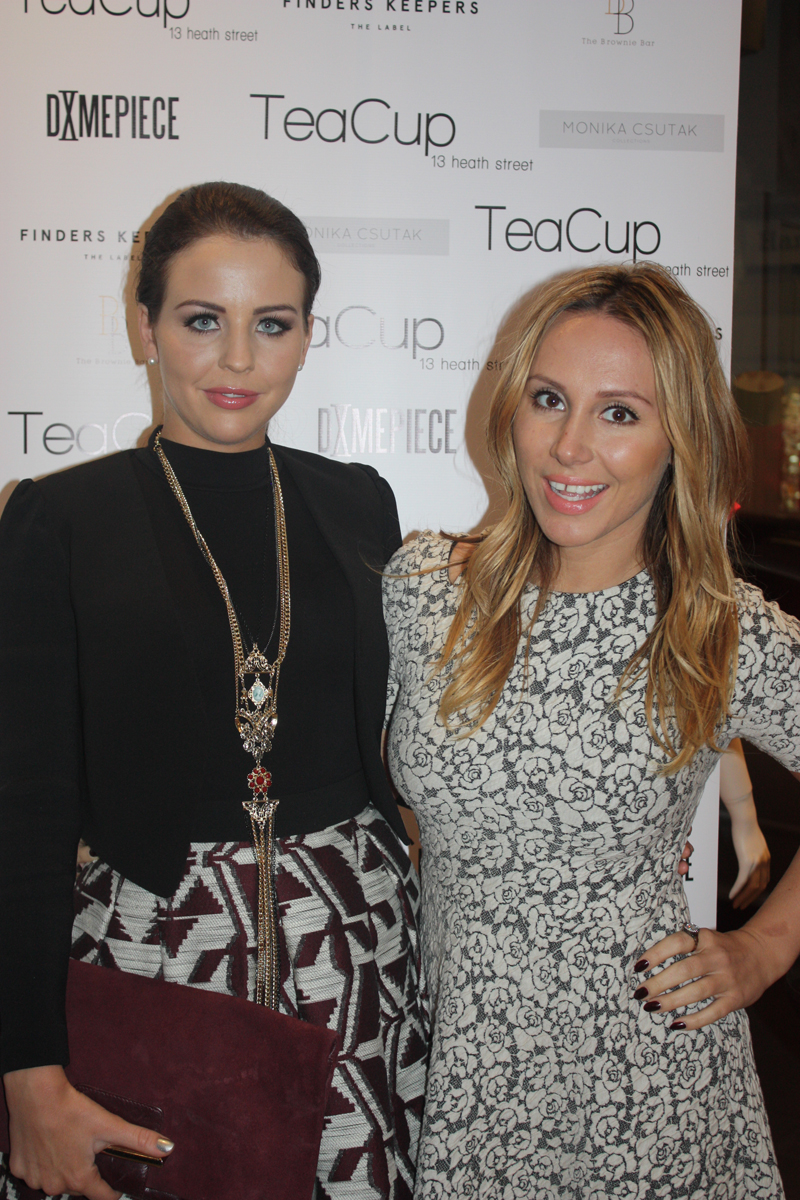 Lydia Bright at Teacup Boutique party