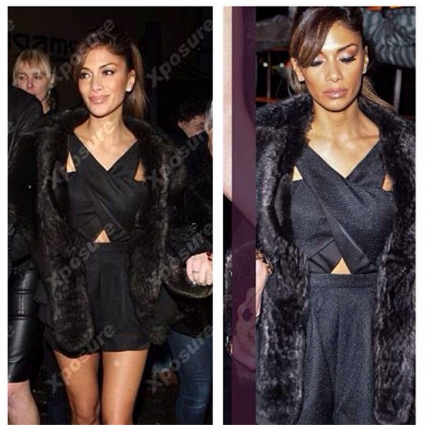 nicole scherzinger finders keepers like smoke playsuit black