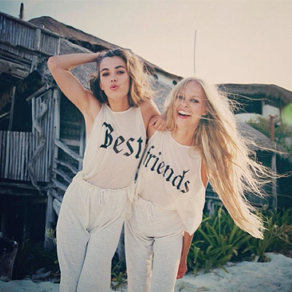 sneak peek wildfox spring 2014 lookbook lagoon