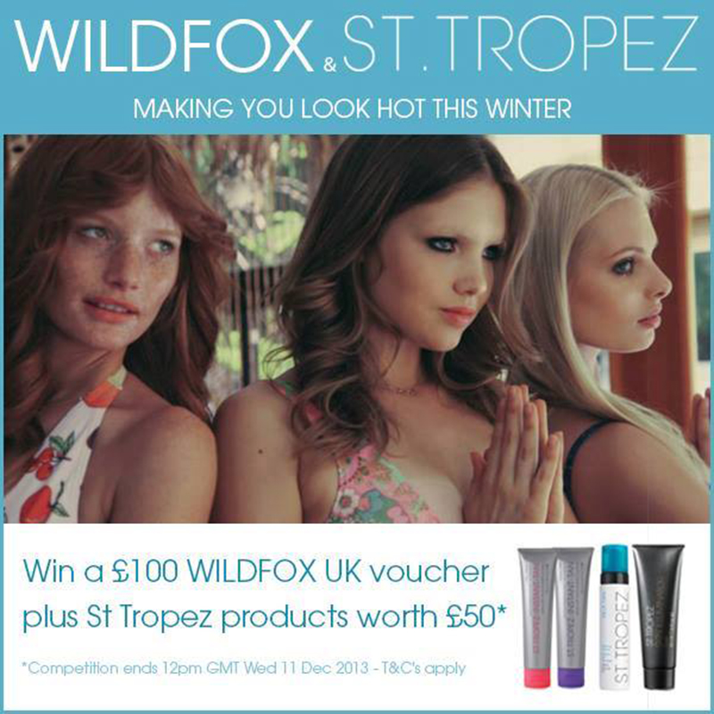 wildfox st tropez competition giveaway christmas