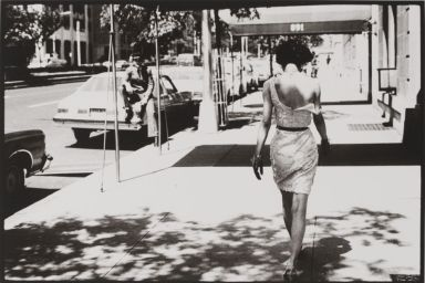 """Park Avenue, Wendy White photographed by Arthur Elgort as part of """"Selling Dreams"""" at V&A"""