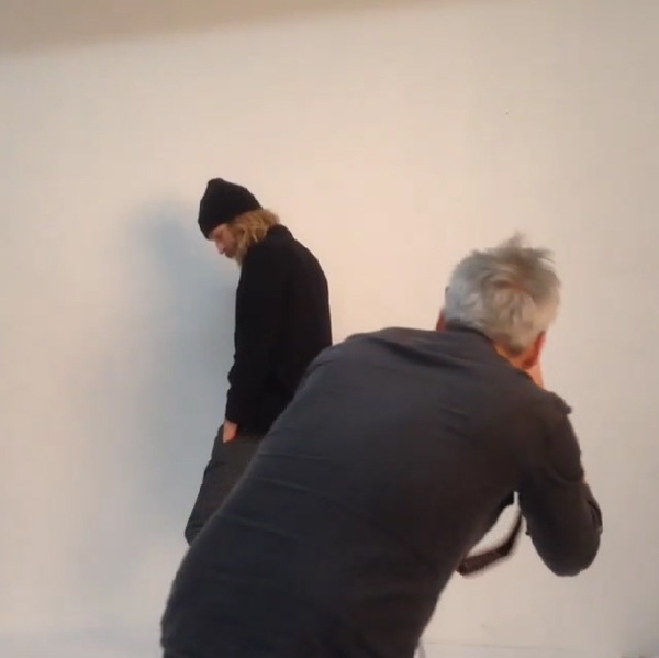 behind the scenes lookbook shoot elvine maker of jackets 2