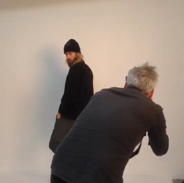 behind the scenes lookbook shoot elvine maker of jackets 3