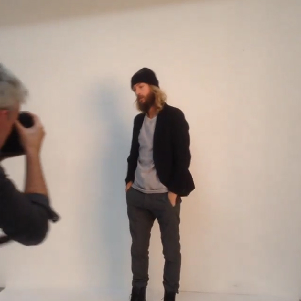 behind the scenes lookbook shoot elvine maker of jackets